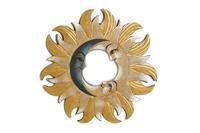 Солнышко-зеркало, (Индонезия), d-40 см, 4 цвета (си-242а)