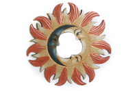 Солнышко-зеркало, (Индонезия), d-50 см, 3 цвета (си-243б)