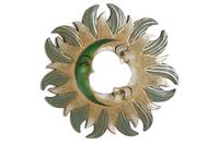 Солнышко-зеркало, (Индонезия), d-40 см, 5 цвета (си-242в)