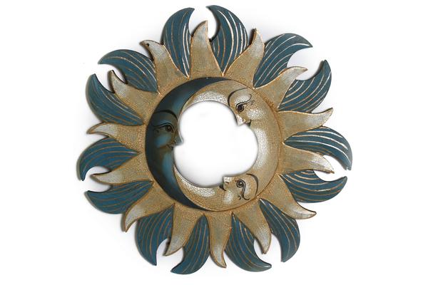 Солнышко-зеркало, (Индонезия), d-50 см, 5 цвета (си-243в)