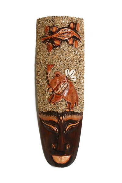 Маски с песком, 4 вида, Индонезия (ми-143 в)