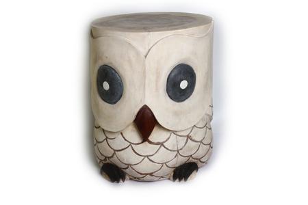 Стул-сова, дерево мех, 5 видов (см-63)