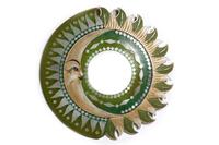 Солнышко с зеркалом, 4 вида, зелёные лучи (си-237а)