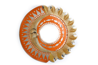Солнышко с зеркалом 4 вида лучики (си-237в)