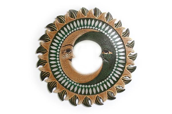 Солнышко-зеркало c двумя месяцами, (Индонезия), d-50 см, 5 видов  (си-208)