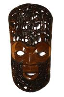 Маска резная, (Африка), дерево Мербау.