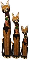 Кот коричневый с птицей на груди ( к-925, к-926, к-927)