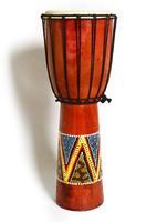 Джембе (там-там) цветной, Индонезия, 60 см (тт-25)