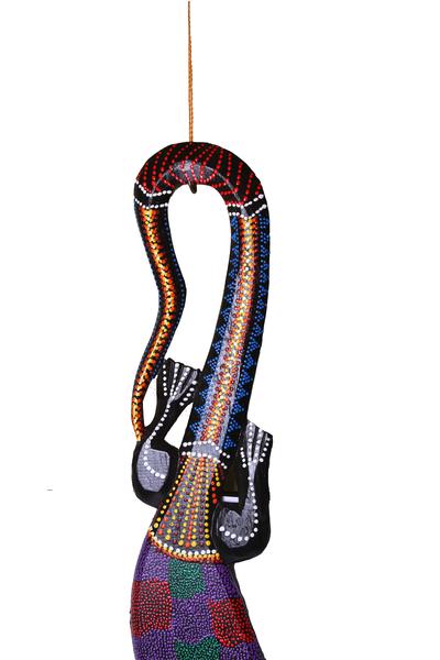 Ящерица деревянная,100 см, 3 вида, Индонезия,  (я-30)