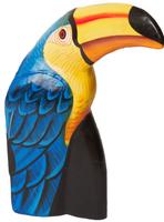 Тукан раскрашенный  4 цвета (пт-143)